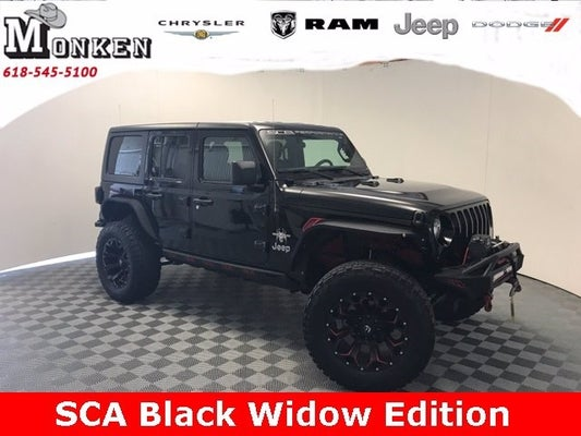 Black Jeep Wrangler Unlimited >> 2018 Jeep Wrangler Unlimited Sport Sca Black Widow